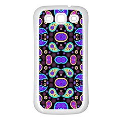 Colorful 5 Samsung Galaxy S3 Back Case (white)
