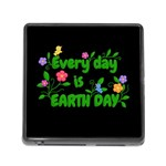 Earth Day Memory Card Reader (Square) Front