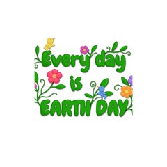 Earth Day Shower Curtain 48  X 72  (small)  by Valentinaart