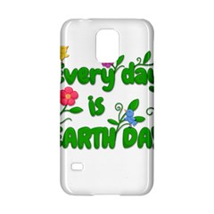 Earth Day Samsung Galaxy S5 Hardshell Case  by Valentinaart