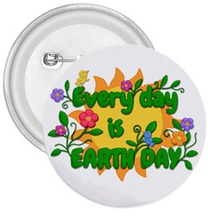 Earth Day 3  Buttons by Valentinaart