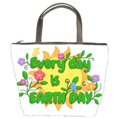 Earth Day Bucket Bags by Valentinaart