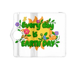 Earth Day Kindle Fire Hdx 8 9  Flip 360 Case by Valentinaart