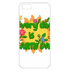 Earth Day Apple Iphone 5 Seamless Case (white) by Valentinaart