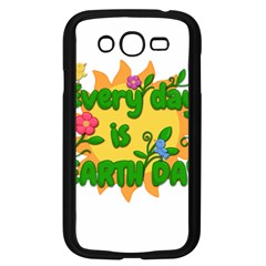 Earth Day Samsung Galaxy Grand Duos I9082 Case (black) by Valentinaart