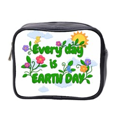 Earth Day Mini Toiletries Bag 2 Side by Valentinaart