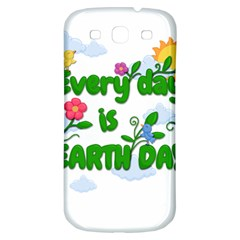 Earth Day Samsung Galaxy S3 S Iii Classic Hardshell Back Case by Valentinaart