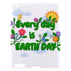 Earth Day Apple Ipad 3/4 Hardshell Case by Valentinaart