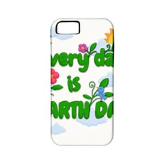 Earth Day Apple Iphone 5 Classic Hardshell Case (pc+silicone) by Valentinaart