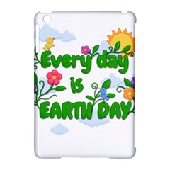 Earth Day Apple Ipad Mini Hardshell Case (compatible With Smart Cover) by Valentinaart