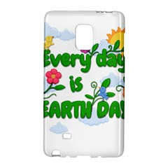 Earth Day Galaxy Note Edge by Valentinaart