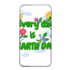 Earth Day Apple Iphone 4/4s Seamless Case (black) by Valentinaart