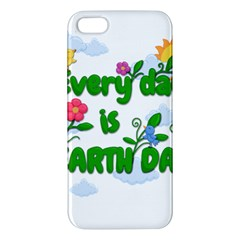 Earth Day Iphone 5s/ Se Premium Hardshell Case by Valentinaart