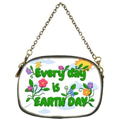 Earth Day Chain Purses (one Side)  by Valentinaart