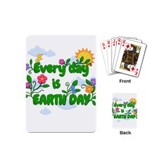 Earth Day Playing Cards (mini)  by Valentinaart