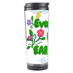 Earth Day Travel Tumbler by Valentinaart