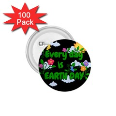 Earth Day 1 75  Buttons (100 Pack)  by Valentinaart