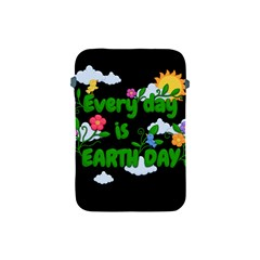 Earth Day Apple Ipad Mini Protective Soft Cases by Valentinaart