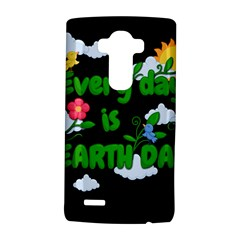 Earth Day Lg G4 Hardshell Case by Valentinaart
