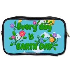 Earth Day Toiletries Bags 2 Side by Valentinaart