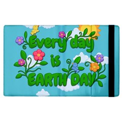 Earth Day Apple Ipad 3/4 Flip Case by Valentinaart