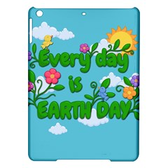 Earth Day Ipad Air Hardshell Cases by Valentinaart