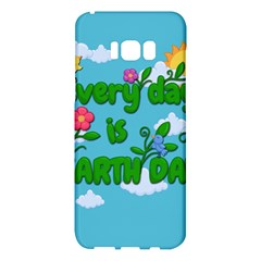 Earth Day Samsung Galaxy S8 Plus Hardshell Case  by Valentinaart