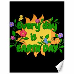 Earth Day Canvas 12  X 16   by Valentinaart