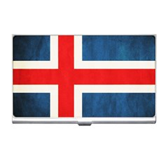Iceland Flag Business Card Holders by Valentinaart