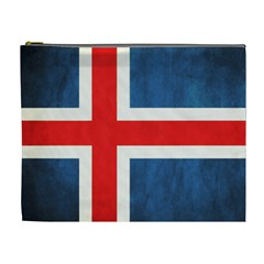 Iceland Flag Cosmetic Bag (xl) by Valentinaart