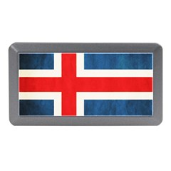Iceland Flag Memory Card Reader (mini) by Valentinaart