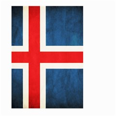 Iceland Flag Large Garden Flag (two Sides) by Valentinaart