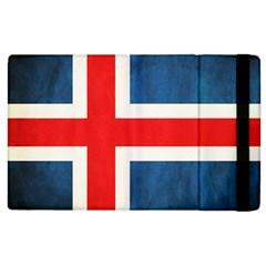 Iceland Flag Apple Ipad 3/4 Flip Case by Valentinaart