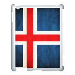 Iceland Flag Apple Ipad 3/4 Case (white) by Valentinaart
