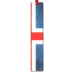 Iceland Flag Large Book Marks by Valentinaart