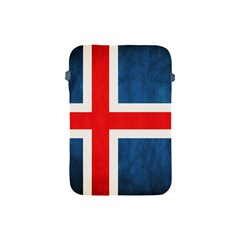 Iceland Flag Apple Ipad Mini Protective Soft Cases by Valentinaart