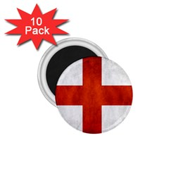 England Flag 1 75  Magnets (10 Pack)  by Valentinaart