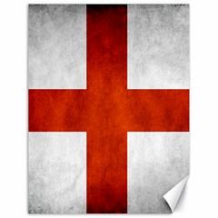 England Flag Canvas 18  X 24   by Valentinaart