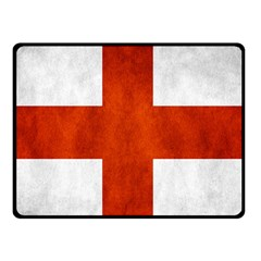 England Flag Fleece Blanket (small) by Valentinaart