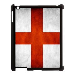 England Flag Apple Ipad 3/4 Case (black) by Valentinaart