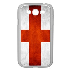 England Flag Samsung Galaxy Grand Duos I9082 Case (white) by Valentinaart