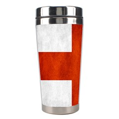 England Flag Stainless Steel Travel Tumblers by Valentinaart