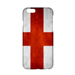 England Flag Apple Iphone 6/6s Hardshell Case by Valentinaart