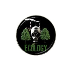 Ecology Hat Clip Ball Marker by Valentinaart