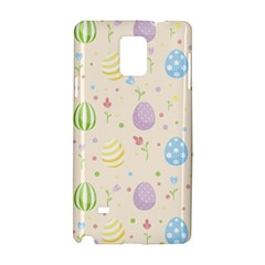 Easter Pattern Samsung Galaxy Note 4 Hardshell Case by Valentinaart
