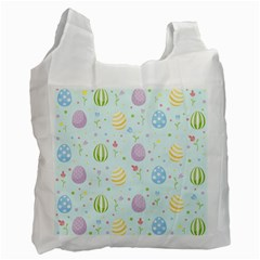 Easter Pattern Recycle Bag (one Side) by Valentinaart