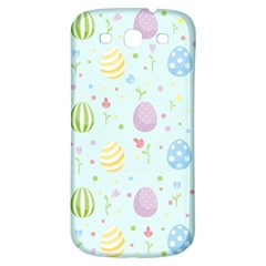 Easter Pattern Samsung Galaxy S3 S Iii Classic Hardshell Back Case by Valentinaart