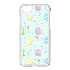 Easter Pattern Apple Iphone 7 Seamless Case (white) by Valentinaart
