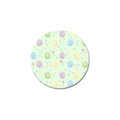 Easter Pattern Golf Ball Marker by Valentinaart