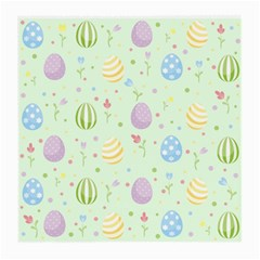 Easter Pattern Medium Glasses Cloth (2 Side) by Valentinaart